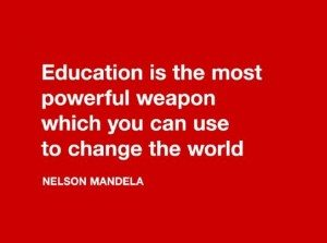 Education quote Nelson Mandela